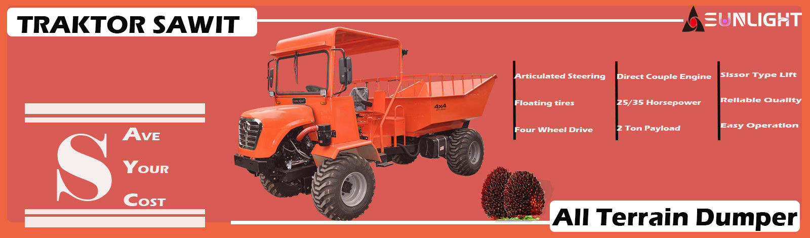 China best Tractor Dumper on sales