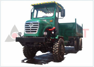 50HP Articulated Rear Dump Trucks For Agriculture Use In Mountain Area 4t Payload SLT-50