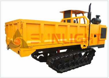 High Efficiency Mini Crawler Dumper Tracked Wheelbarrow For Vagetable Land