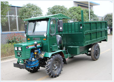 Green Color Mini Off Road Dump Truck 13.2kw FWD/4WD Drive Model Easy Operation