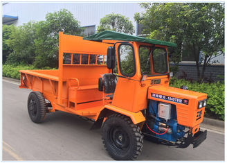 18HP 1 Ton Dump Truck All Terrain Utility Vehicle For Agriculture In Oil Palm Plantation