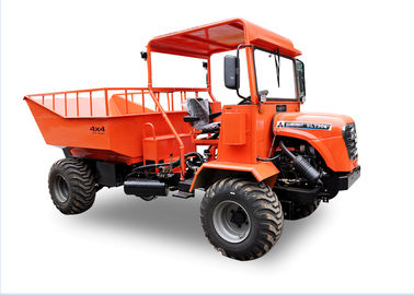 22.05kw 2 Ton Mini Articulated Dump Truck 30HP Four Wheel Drive 55km/H