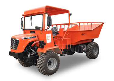 30HP All Terrain Dump Truck / Articulated Tipper Truck With wide flatation Tyre