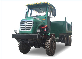 Customized Color Fwd Dump Truck / All Terrain Dumper Articulated tractor with dump bed