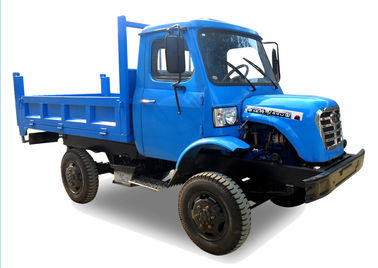 4wd rigid chassis Mini Off Road Dump Truck For Transporting Rice / Bamboo