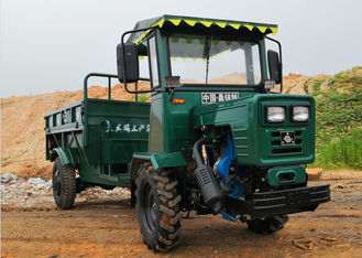 2 Ton 4 Wheel Drive Dump Truck , Light weight All Terrain Dump Truck