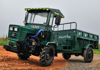 Customized Size Mini Off Road Dump Truck Full Hydraulic / Articulated Body Equal wheel tractor