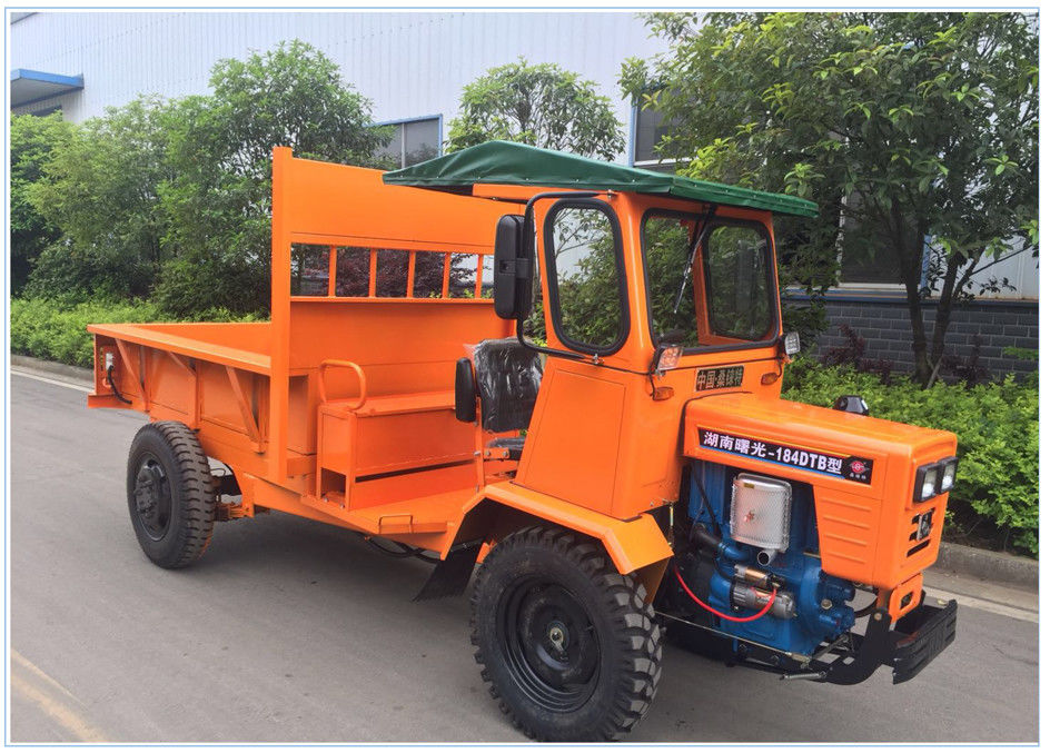 18HP 1 Ton Dump Truck All Terrain Utility Vehicle For Agriculture In Oil Palm Plantation supplier