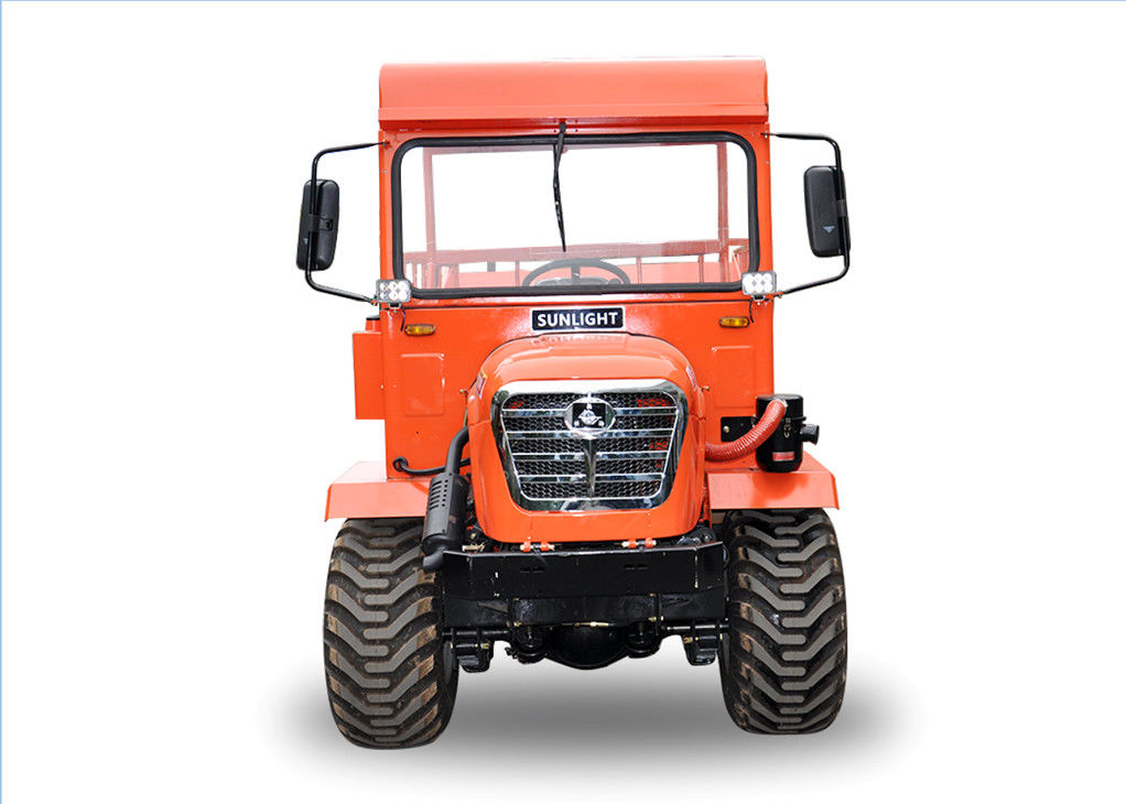 FWD /RWD/4WD Mini Tractor Dumper For In Oil Palm Plantation 2 Ton Payload supplier