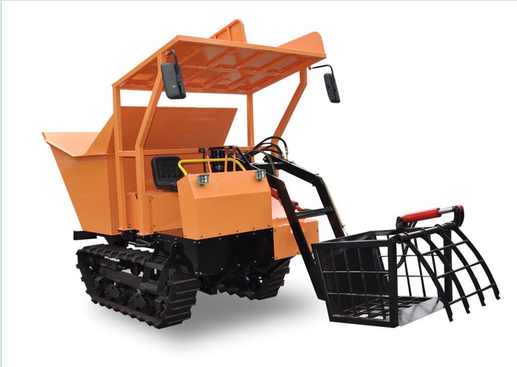 Agriculture Farm Equipment Mini Crawler Dumper small carrier Hydrostatic Transmission supplier