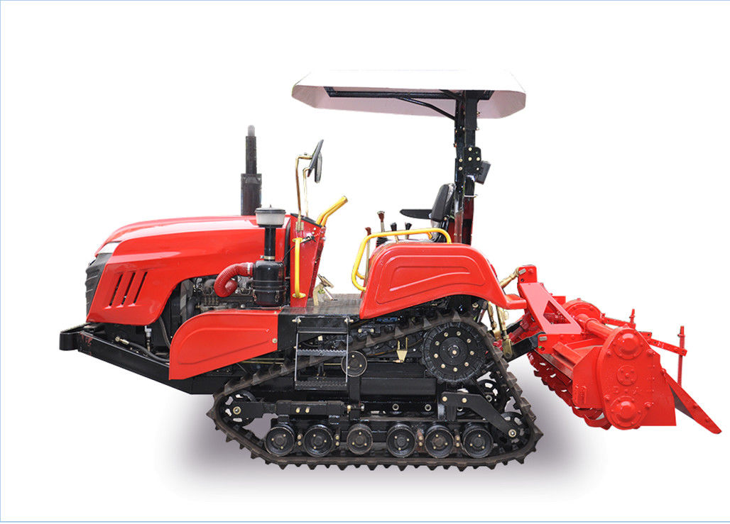 350mm Rubber Track Crawler Farm Tractor With Zero Turning Radius Easy Operation supplier