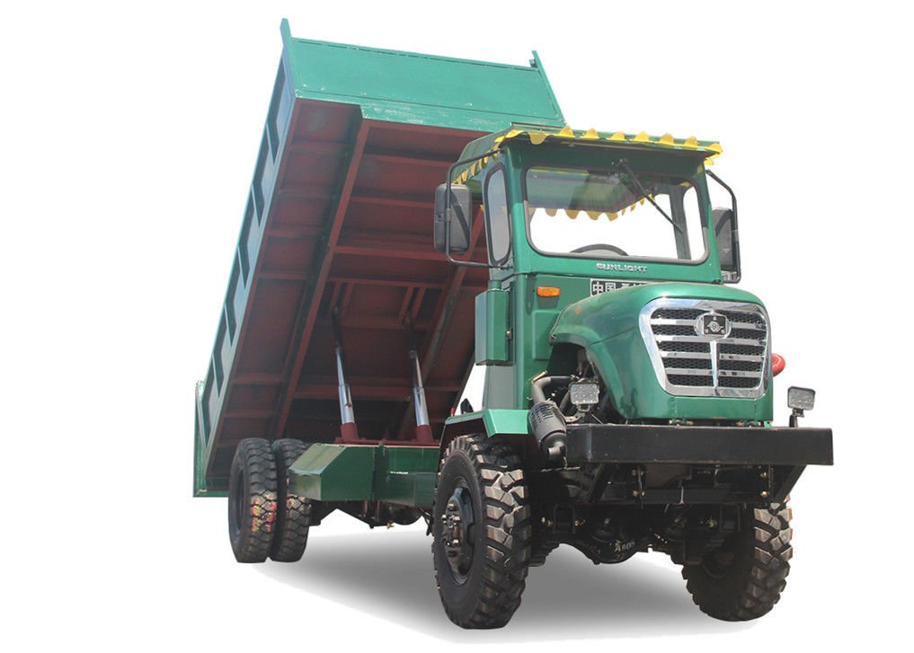4WD Mini Articulated Dump Truck For Mountain All Terrain All Weather Transport Vehicle supplier