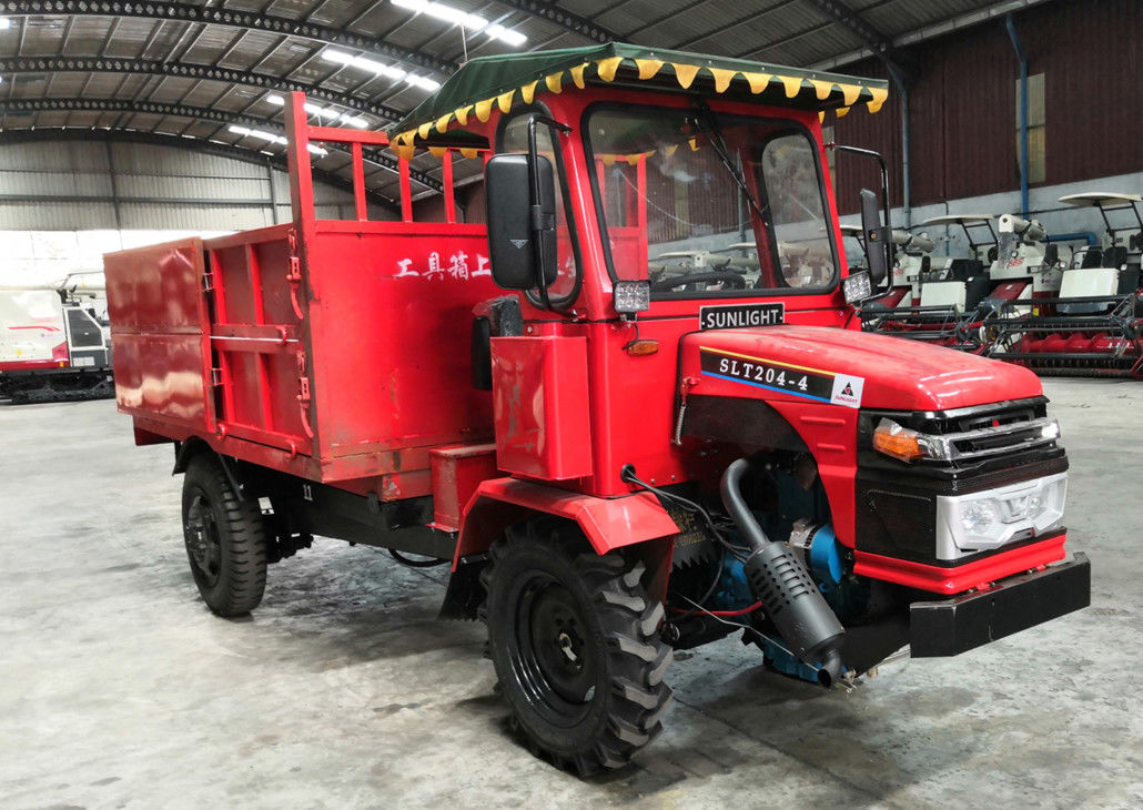 Oil Brake Four Wheel Drive Tractor Dump Truck 30HP Direct Coupling Engine Myanmar Model supplier