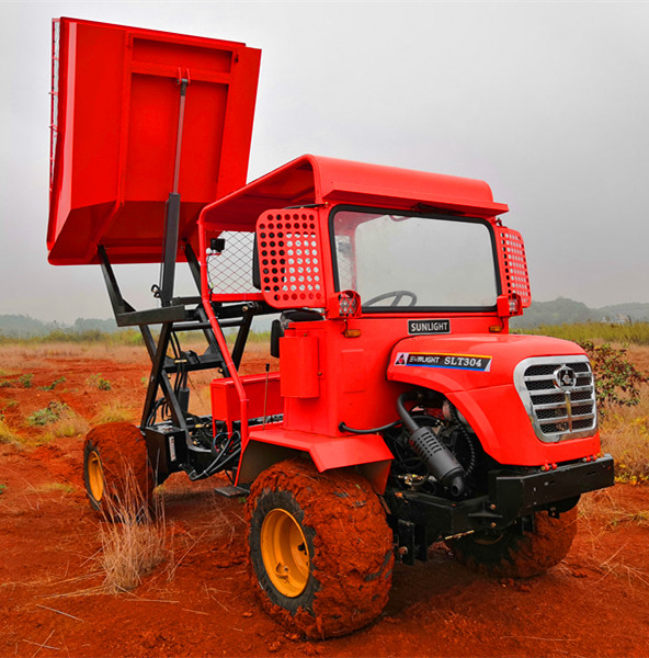 JD2102 Engine Mini Off Road Dump Truck Customized Cargo Box & Design 1